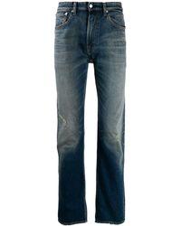 Calvin Klein Straight Jeans - Blauw