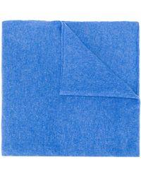 Dell'Oglio カラーブロック スカーフ - ブルー