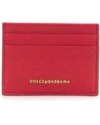 Dolce & Gabbana Pasjeshouder Met Logo - Rood