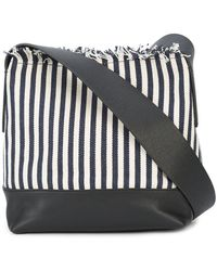 Loeffler Randall - Striped Bucket Crossbody Bag - Lyst