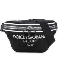Dolce & Gabbana ロゴ ショルダーバッグ - ブラック