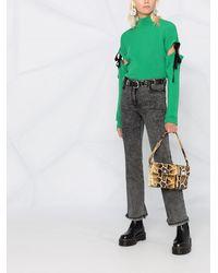 Boutique Moschino Punk Lady ブーツカットジーンズ - グレー