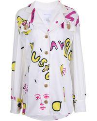 Alice McCALL Ze Energy Mini Shirt Dress - Multicolour