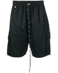 Represent ドローストリング ショートパンツ - ブラック