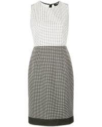 Paule Ka - Short Dotted Dress - Lyst