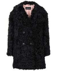 Numerootto - Double-breasted Fitted Coat - Lyst