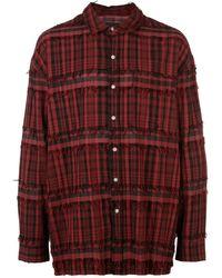 Mostly Heard Rarely Seen Рубашка Slater - Красный