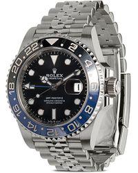 Rolex Pre-owned Master Ii Batman Jubilee Horloge - Metallic