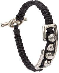 Tobias Wistisen Studded Bracelet - Black