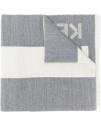 KENZO ストライプ スカーフ - マルチカラー