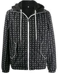 MCM Куртка С Капюшоном И Логотипом - Черный