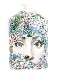 Fornasetti Ortensia Candle - Multicolour