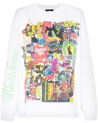 we11done Horror Collage Tシャツ - ホワイト