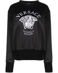 Versace Толстовка С Вышивкой Medusa - Черный
