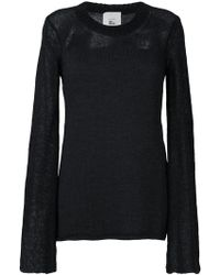 Lost and Found Rooms | Contrast Knit Sweater | Lyst