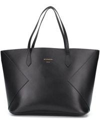 Givenchy Großer 'Wing' Shopper - Schwarz