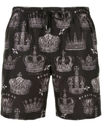 Dolce & Gabbana - Плавки-шорты Crown - Lyst