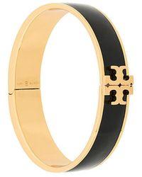 Tory Burch - Enamelled Raised Logo Bracelet - Lyst