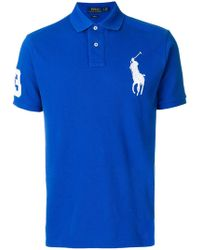 Polo Ralph Lauren | Embroidered Big Pony Polo Shirt | Lyst