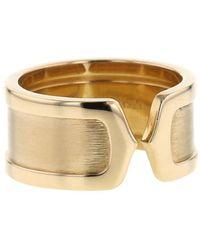Cartier Pre-owned 18kt Open C de Gelbgoldring - Mettallic