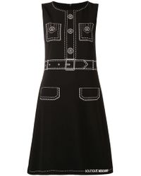 Boutique Moschino - Vestido sin mangas - Lyst