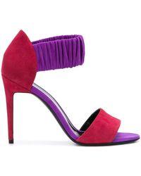Pierre Hardy - Colour Block Ruche Sandals - Lyst