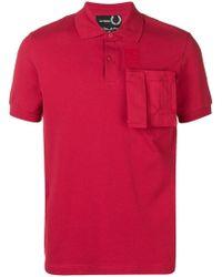 Fred Perry - Poloshirt mit aufgesetzter Tasche - Lyst
