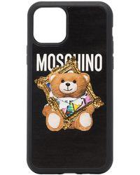 Moschino Funda Toy Bear para iPhone 11 Pro - Negro