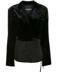 Aganovich ベルベット ジャケット - ブラック