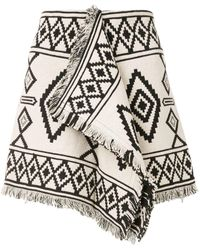 Étoile Isabel Marant Jiloa グラフィック スカート - マルチカラー