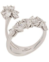 YEPREM Twist Effect Ring - Metallic