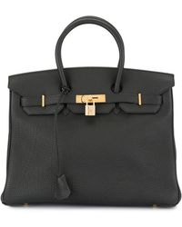 Hermès 2003 Pre-owned Birkin 35 Bag - Black