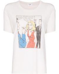 RE/DONE Taco Bar グラフィック Tシャツ - ホワイト