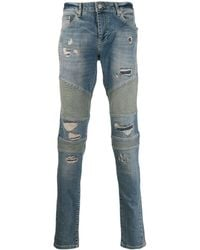 Represent - Ripped Skinny-fit Jeans - Lyst