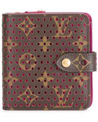 Louis Vuitton Компактный Кошелек На Молнии 2006-го Года Pre-owned - Коричневый
