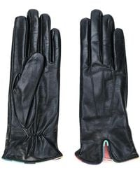 Paul Smith - Contrast Trim Gloves - Lyst