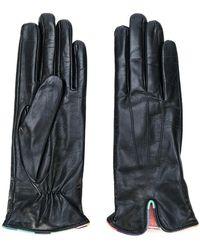 Paul Smith - Contrast Trim Gloves - Lyst