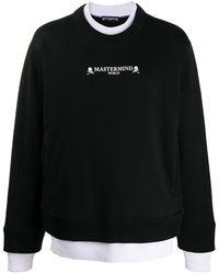 MASTERMIND WORLD スカル スウェットシャツ - ブラック