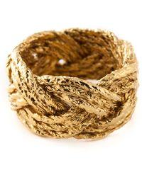Aurelie Bidermann 'miki' Ring - Metallic
