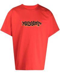 Rassvet (PACCBET) グラフィティ Tシャツ - レッド