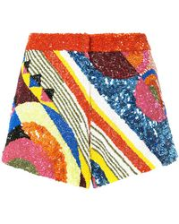 Manish Arora - Geometric Patterned Shorts - Lyst