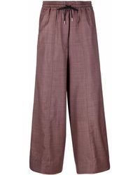 Paul Smith Pantalones capri - Rojo