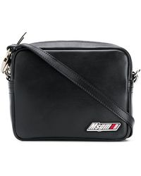 MSGM Crossbody Bag - Black