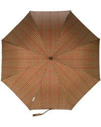 London Undercover - Checked Umbrella - Lyst