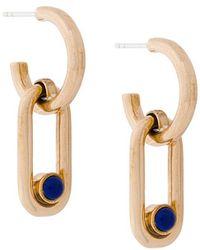 Pamela Love - Beaumont Lapis Earrings - Lyst