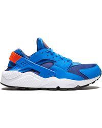 Nike Air Huarache Trainers - Blue
