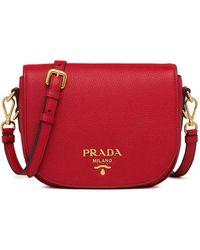 Prada - ロゴ ショルダーバッグ - Lyst