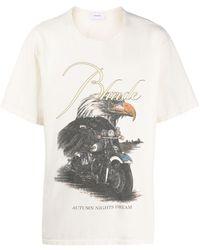 Rhude Eagle Dream Tシャツ - マルチカラー