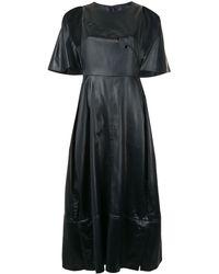 3.1 Phillip Lim ケープ ドレス - ブラック