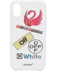 Off-White c/o Virgil Abloh - Swans Iphone X ケース - Lyst